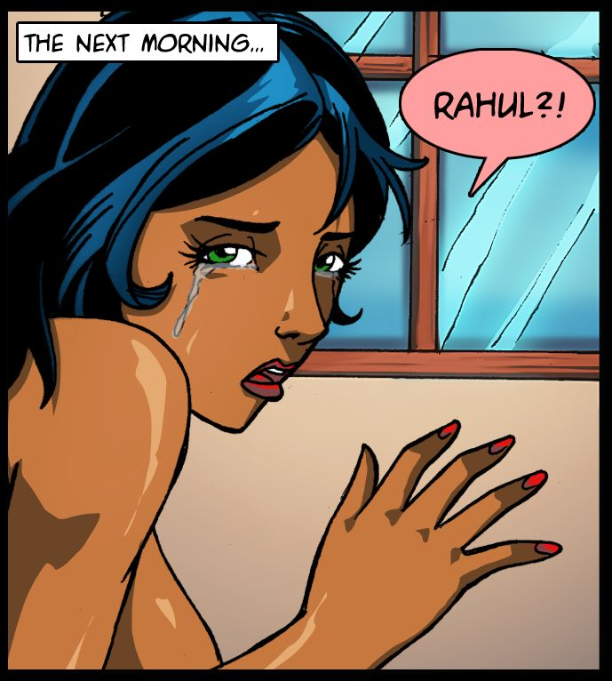 The next morning... Rahul?!