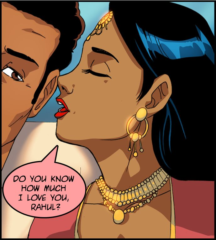 Do you know how much I love you, Rahul?
