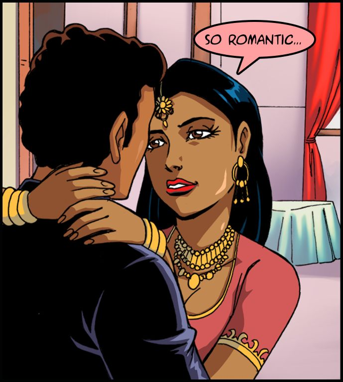So romantic...